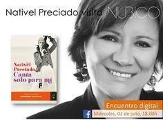 Encuentro Digital con #NativelPreciado  #Nubico #Cantasoloparami Manda tus preguntas aquí: https://www.facebook.com/NubicoEbook/app_190322544333196