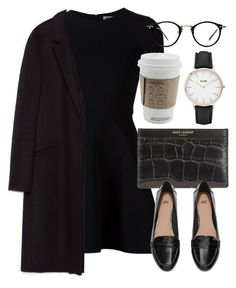 """Untitled #5079"" by laurenmboot ❤ liked on Polyvore featuring Opening Ceremony, Zara, Yves Saint Laurent and H&M"