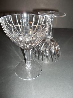 Lead Crystal Coupes