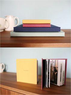 colour options for fine art wedding albums