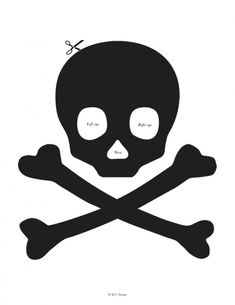 FREE Jolly Roger Jack-O-Lantern Stencil - The Review Wire