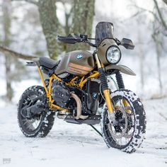 An ice cool custom BMW R nineT Urban G/S from UCC of Sweden