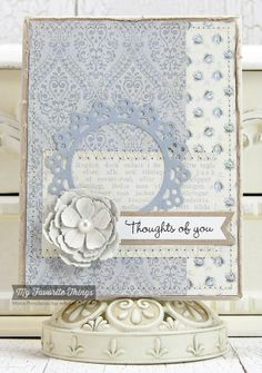 Essential Sentiments, Dainty Doily Duo Die-namics, Fishtail Flags STAX Die-namics Fishtail Flags Layers STAX Die-namics, Layered Rose Die-namics, Stitched Circles STAX Die-namics - Mona Pendleton #mftstamps