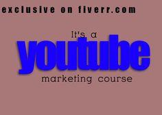 socialmediabiz: give you a youtube video marketing course for $5, on fiverr.com
