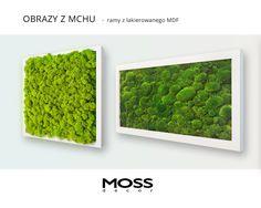 Zielone ściany w wersji mini - zielone obrazy w ramach z lakierowanego MDF-u. Polecamy wszędzie tam, gdzie jest mało miejsca. Ramy dostępne w odcieniach z palety RAL.
