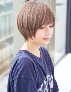 小顔ラインショート(TK-103)   ヘアカタログ・髪型・ヘアスタイル AFLOAT(アフロート)表参道・銀座・名古屋の美容室・美容院