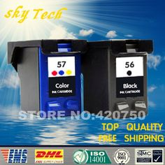 Remanufactured Ink cartridge Suit for Hp56 Hp57 print heads, Suit For HP 450 5150 5550 5552 5650 5652 etc