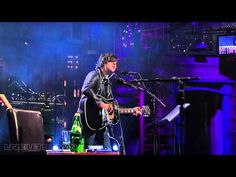"""Ryan Adams on David Letterman singing the Whiskeytown classic """"16 Days"""" in 2011."""