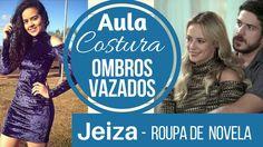 Aula de costura vestido Jeiza da novela Alana Santos Blogger