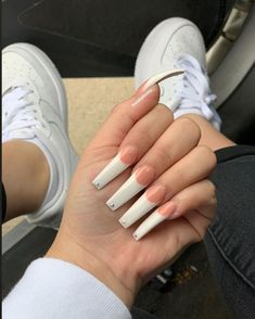 Coffin Shape Nails, Coffin Nails Long, Long Nails, Aycrlic Nails, Get Nails, Nail Nail, How To Do Nails, Best Acrylic Nails, Summer Acrylic Nails