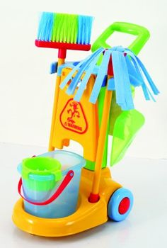 Playgo My Cleaning Trolley (Simple Version) -- To view further for this item, visit the image link.