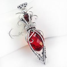 Awesome gothic wire jewelry