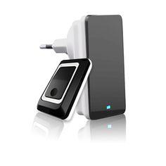 original EU/AU/UK Plug 220V cordless Wireless Doorbell Alarm Chimes campainha Remote Control Home Door Bell  Speaker + Receiver