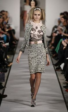 New York Fashion Week: Oscar de la Renta autumn/winter 2012