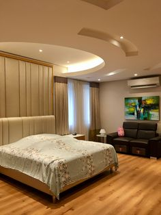 Best False Ceiling Designs, Bedroom False Ceiling Design, Master Bedroom Interior, Modern Master Bedroom, Interior Ceiling Design, House Ceiling Design, Ceiling Design Living Room, Bedroom Pop Design, Luxury Bedroom Design