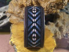 Eye Of The Medicine Man Native American Beaded Bracelet