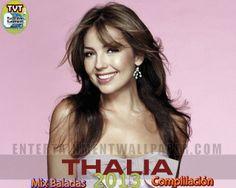 Mix de las Mejores Baladas - Canciones Romanticas de Thalia 2013