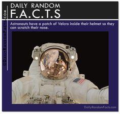 Daily Random Facts- Astronaut Helmets