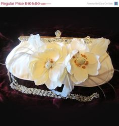 JasmineOOAK & Glamour Bridal French Couture by BijouxandCouture, $73.50