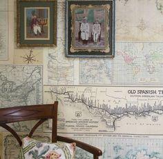 Room Seven - Travel Memories behang