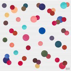 Le carré de #soie rigolo - Prix 134 euros TTC - En stock #foulard #ronds #couleurs #PetiteFriture