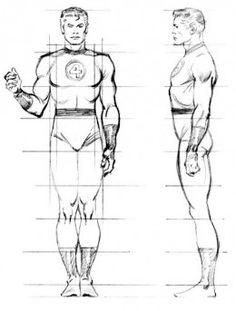 """Drawing Superhero John Buscema """"How To Draw Comics The Marvel Way"""" Drawing Superheroes, Drawing Cartoon Characters, Cartoon Drawings, Art Drawings, Comic Book Artists, Comic Artist, Comic Books Art, Character Modeling, Comic Character"""