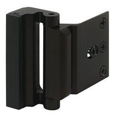Prime-Line Products U 11126 Door Blocker Entry Door Stop, Bronze Anodize Finish - - Amazon.com