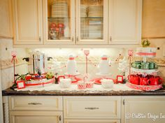Love this Hot Cocoa Bar!! The spacious Whirlpool french door refrigerator would keep everything fresh until ready to serve!