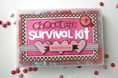Chocolate survival kit
