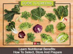 A Fabulous Cheat Sheet Guide To Greens