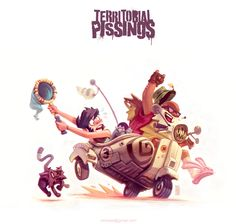 Territorial Pissings - Byob & Tio Phil on Behance