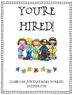 This file is an 8 page download of my classroom jobs with descriptions of each.  Included you will find 24 icons for classroom jobs and 2 pages of ...