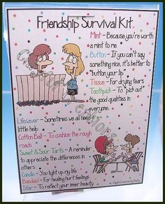 FRIENDSHIP Survival Kit - Becky's This and That