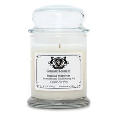 Aromatherapy Deodorizing Soy Candle For Pets