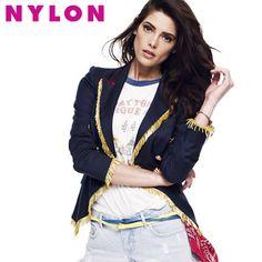 Ashley Greene For Nylon Magazine Cover.