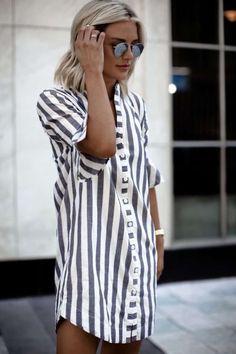 7 Formas De Usar Un Vestido Camisero | Cut & Paste – Blog de Moda