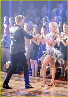 Cody and Witney ended up with a total of 22/30 from the judges