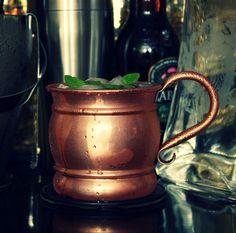 Pure copper Moscow Mule Mug.