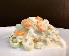 Einfach und Lecker - Porree Salat mit Apfel und Mandarinen
