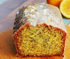 Citromos-mákos kevert sütemény Recept képpel - Mindmegette.hu - Receptek Hungarian Recipes, Pound Cake, Meatloaf, Banana Bread, Muffin, Baking, Sweet, Food, Poppy