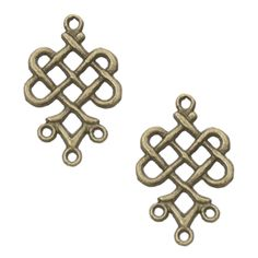 Antique Brass Pewter Knot Earring Findings, 19x23mm Presidents Day Sale, Coupon Codes, Antique Brass, Pewter, Knots, Basement, Bling, Beads, Antiques