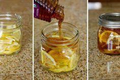Como fazer um xarope caseiro contra constipações e dores de garganta!
