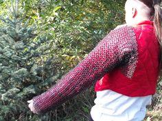 chainmail sleeves Chain Mail, Leg Warmers, Legs, Sleeves, Fashion, Leg Warmers Outfit, Moda, Chain Letter, Fashion Styles