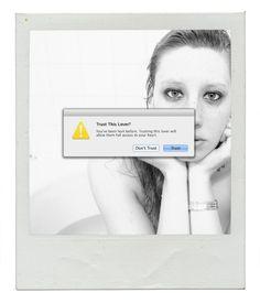Victoria Siemer Aka Witchoria Human Error VICTORIA SIEMER - Artist inserts computer error messages into human lives