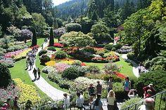 Burchart Gardens Victoria British Columbia, Canada