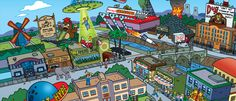 simpsons game - Google 검색