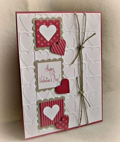 SC629 Happy Valentine's by card crazy - Cards and Paper Crafts at Splitcoaststampers