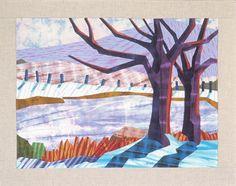 Winter Pond by Carol Anne Grotian