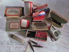 Vintage Office Supplies