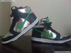 Limited Edition Gunmetal Nike Dunks, Luke's lucky shoes in Step Up 3  ;)